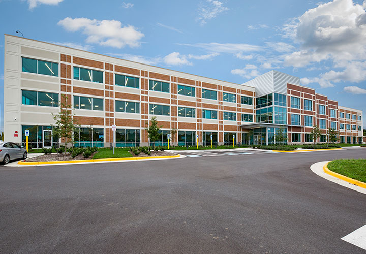 Corporate headquarters for American Woodmark in Winchester, VA