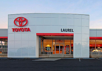 Renovation project management for Laurel Auto Group dealership