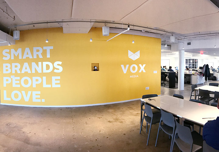 Tenant improvement project management for Vox Media in Washington, DC